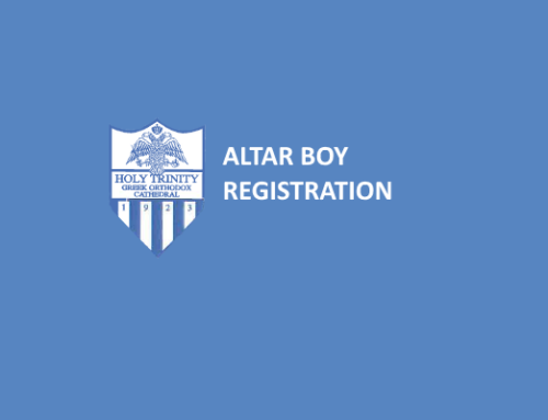 Altar Boy Signup – Deadline Aug 19