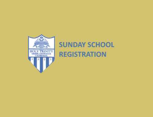 Sunday School Registration – Classes Begin Sep 23