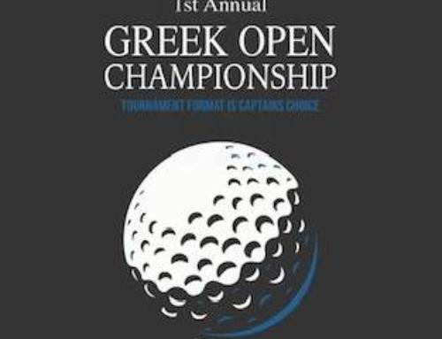 Greek Open Championship – Aug 23