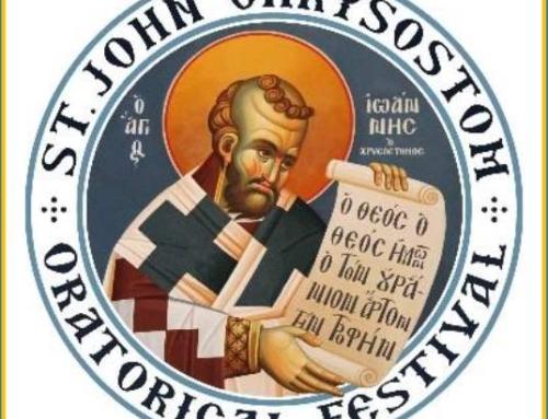 St. John Chrysostom 2021 Oratorical Festival