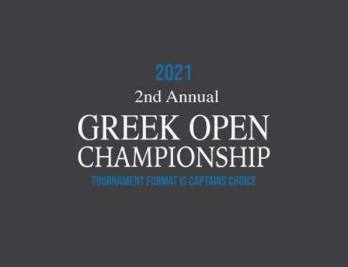 2021 Greek Open Championship – Sep 26